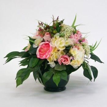 51 best images about compositions florales artificielles on pinterest - Entretien et coupe des hortensias ...