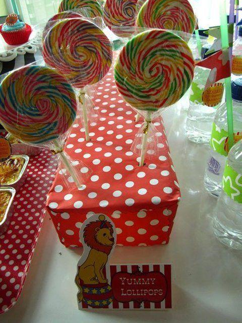 Magali's 1 st Birthday Carnival | CatchMyParty.com