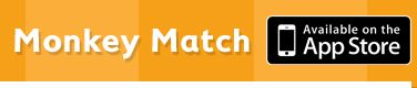 Monkey Match - beginning sounds, upper/lower case, rhymes
