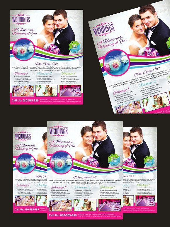 wedding event planner flyer photography flyers pinterest