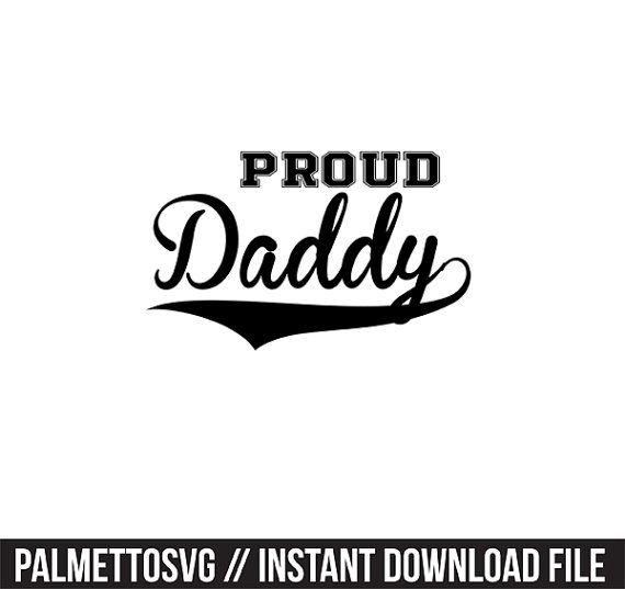 Proud Daddy Baseball Font Svg, Cricut Cut Files