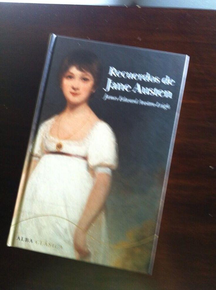 @Inma López añade Recuerdos de Jane Austen de James Edward Austen-Leigh antes de irse para tierras inglesas a descubrir a la escritora en su entorno.