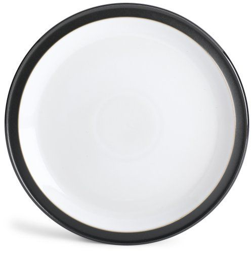 Denby Jet Black Dinner Plate by Denby. $38.50. Strong, durable and chip-resistant. Material: stoneware. Dishwasher, microwave, oven and freezer safe. Each piece of pottery is painstakingly glazed by skilled craftsman.. Denby Jet Black Dinner Plate. Urban style for home living, the Jet collection combines matt and gloss finishes for a contemporary look with timeless appeal. Whether serving coffee or hosting a dinner party, Denby Jet adds eye catching style. If yo...
