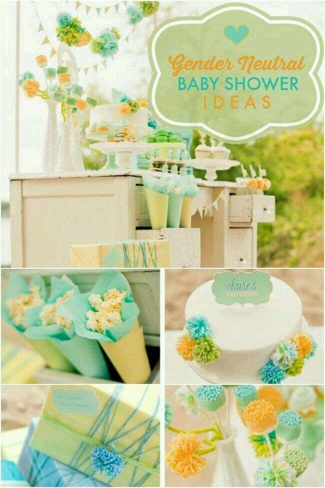 baby shower baby shower neutral gender neutral baby shower ideas theme