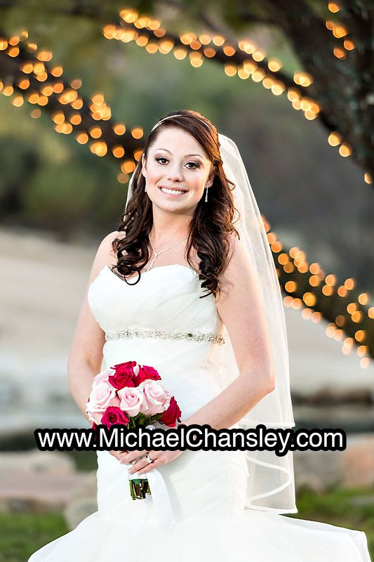 Bride Poses For A Bridal Portrait In The Grass By Pond Lake At Saguaro Buttes Wedding Venue Tucson AZ Arizona Michael Chansley Photography