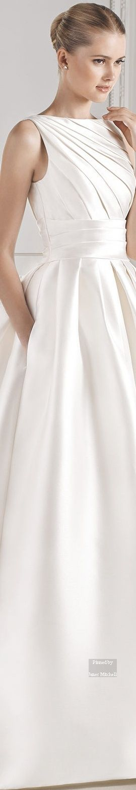 lasposa BARCELONA 2015 Wedding DRESS Collection. This dress has pockets :)