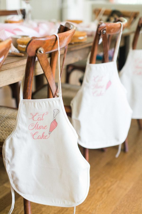 Adorable baking party: http://www.stylemepretty.com/living/2015/09/22/audreys-7th-birthday-party/   Photography: Ruth Eileen - http://rutheileenphotography.com/