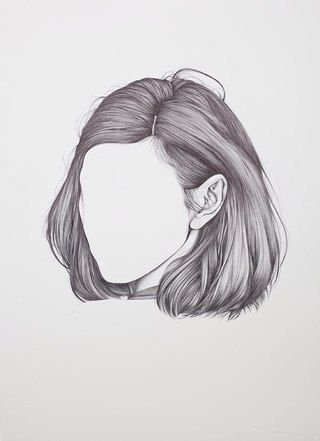 hair, art, and white image
