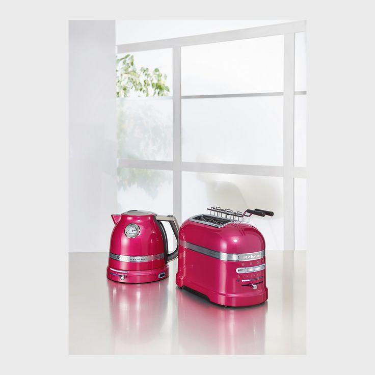 Bildergebnis für kitchenaid pink toaster
