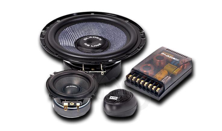 Компонентная трехполосная акустика от Немецкого производителя Gladen Audio