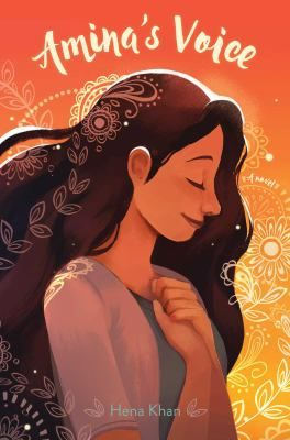 """<2017 pin> Amina's Voice by Hena Khan. SUMMARY: """"A Pakistani-American Muslim girl struggles to stay true to her family's vibrant culture while simultaneously blending in at school after tragedy strikes her community""""-- Provided by publisher."""