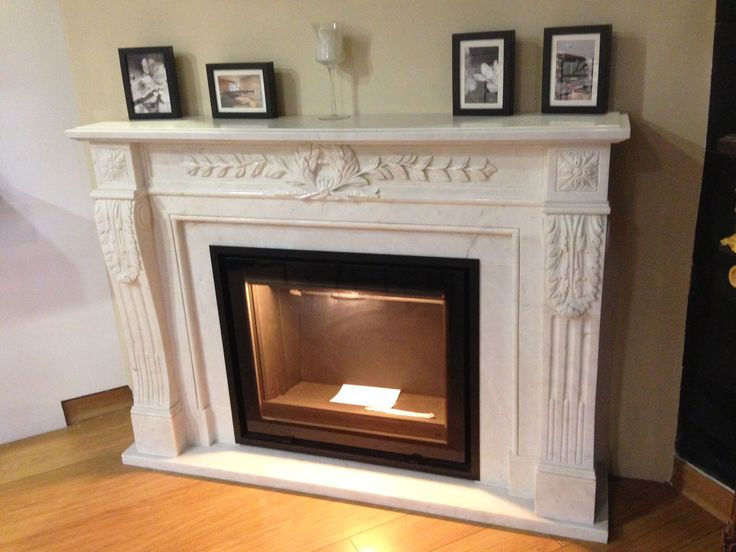 http://www.atryhome.com #cheminée #marbre #insert #modèle #ancien #classique #chic #bois #atryhome #fireplace #marble