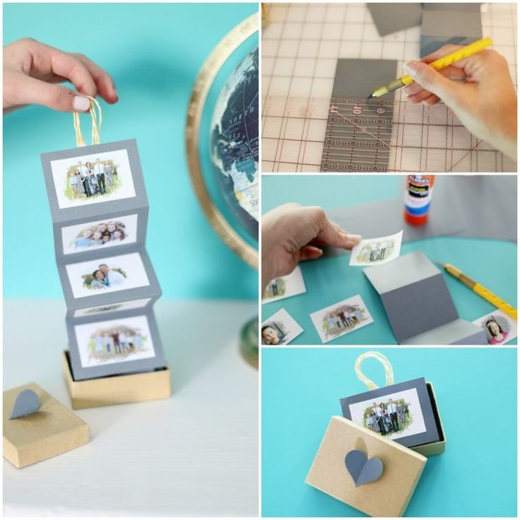 DIY accordion photo collage how to from MichaelsMakers Sugarbee Crafts