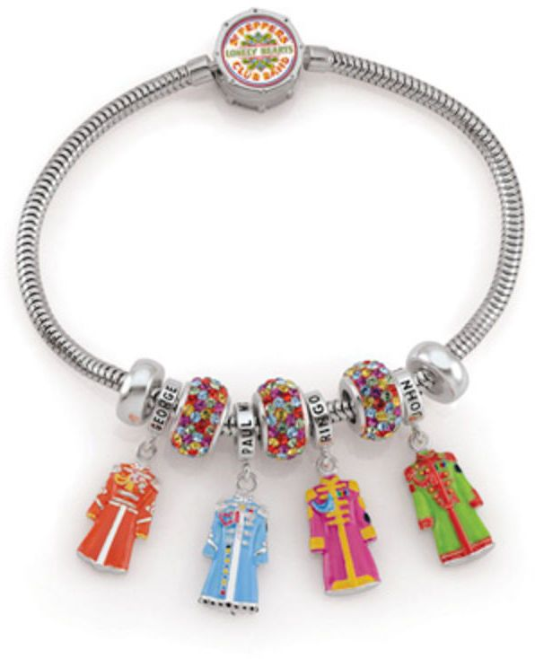 """Zales The Beatles by Persona® 50th Anniversary Sgt. Pepper's Limited-Edition Bracelet Boxed Set - 7.5"""""""