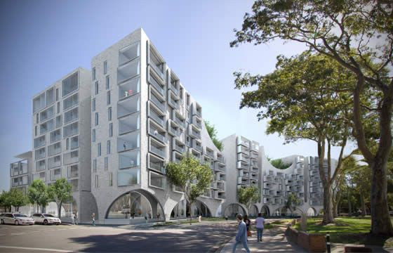 Gleb apartment competition by Chenchow Little + BVN.