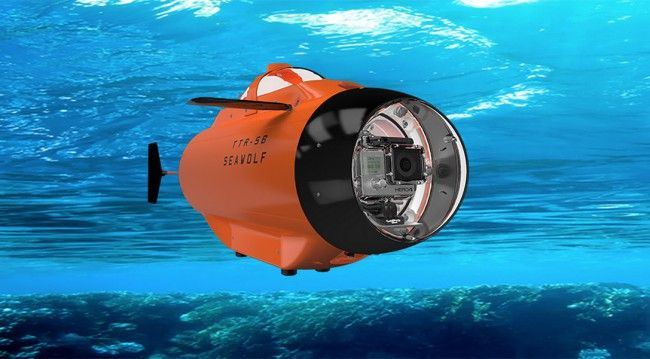 Sous Marin Seawolf pour GoPro - #HighTech - Visit the website to see all photos http://www.arkko.fr/sous-marin-seawolf-gopro/