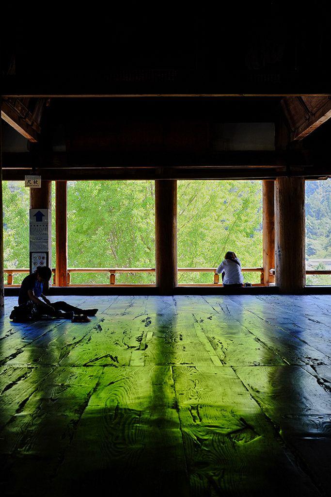 Senjo-kaku of Itsukushima shrine, Hiroshima, Japan