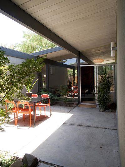eichler courtyard - my dream