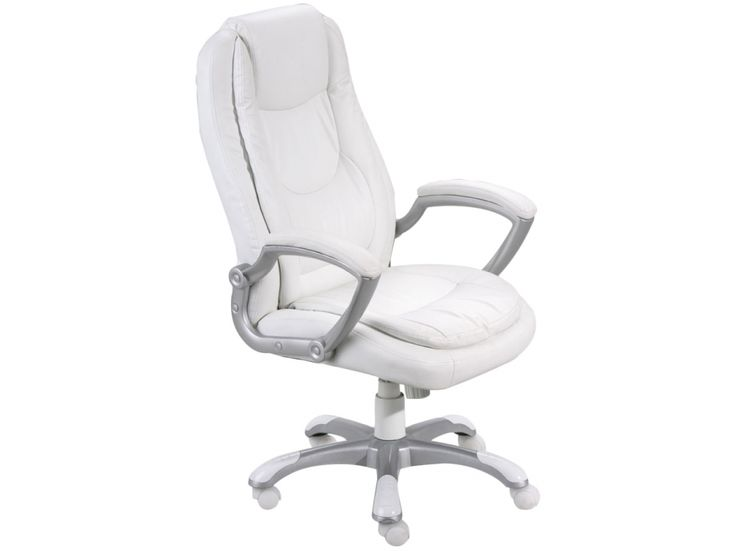 MONTI Skrivbordsstol Vit i gruppen Inomhus / Kontor / Skrivbordsstolar hos Furniturebox (100-52-68930)