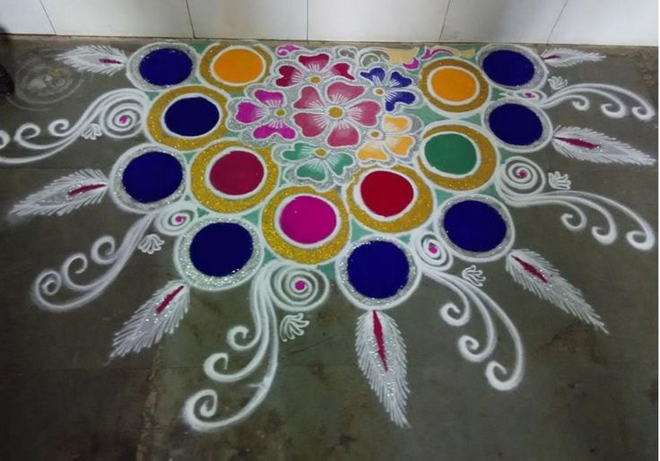 Rangoli designs without dots rangoli rangoli designs for Dots design apartment 8
