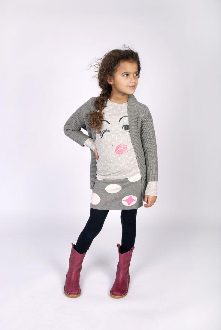 Meisjes collectie van FLO. Fashion for girls Te koop bij www.koflo.nl
