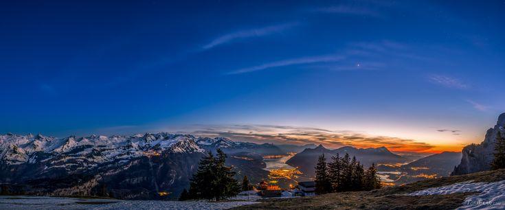 An alpine view