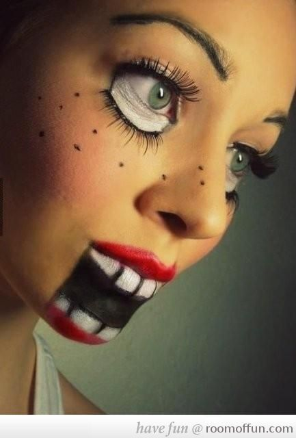 halloween face paint ideas - Fun Makeup Ideas For Halloween