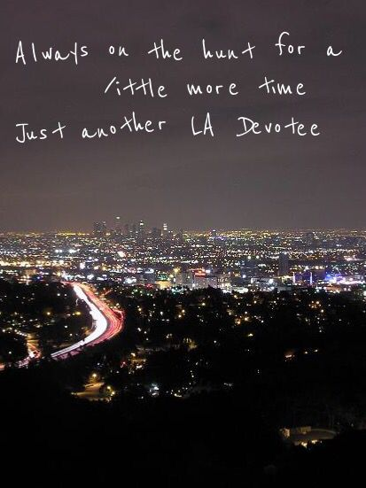 From LA Devotee by Panic! at the Disco