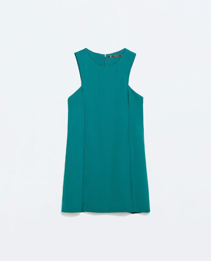 SEAMED A-LINE DRESS from Zara