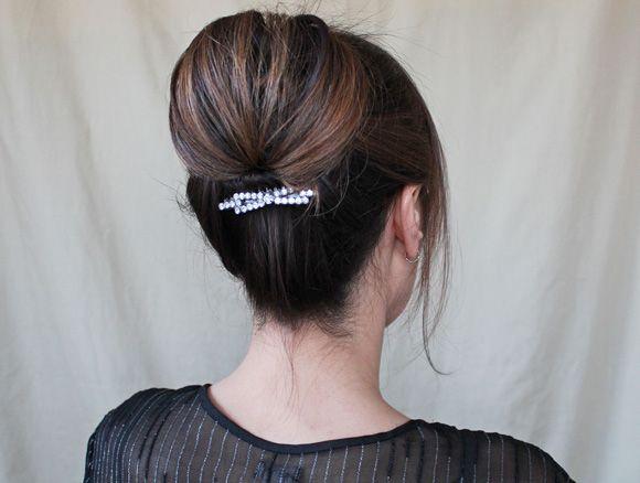 Gibson tuck hair tutorial