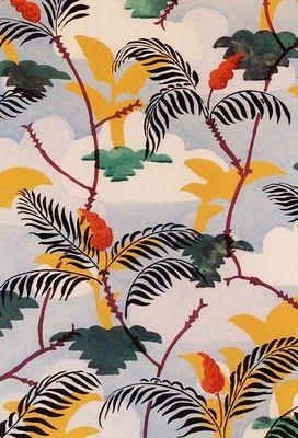 wallpaper design (Charles Burchfield, 1925)