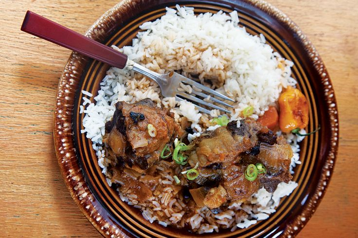 Caribbean Oxtail Stew Recipe - This slow-cooked dish is seasoned with ...