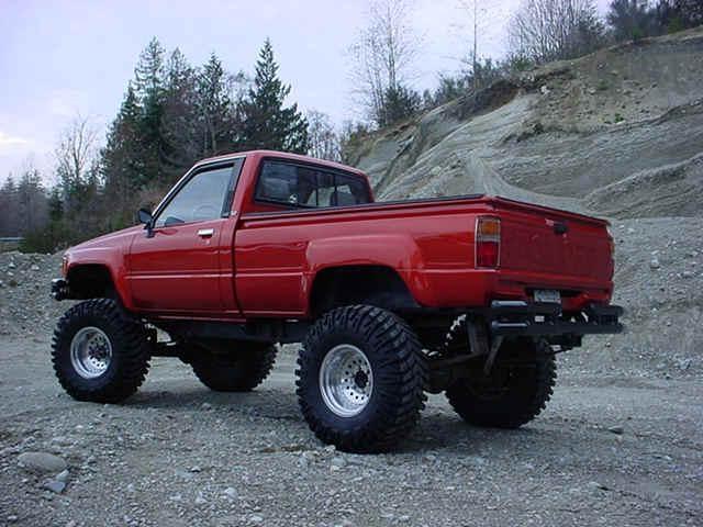 1986 Toyota pickup 4x4.  Yummmmm....