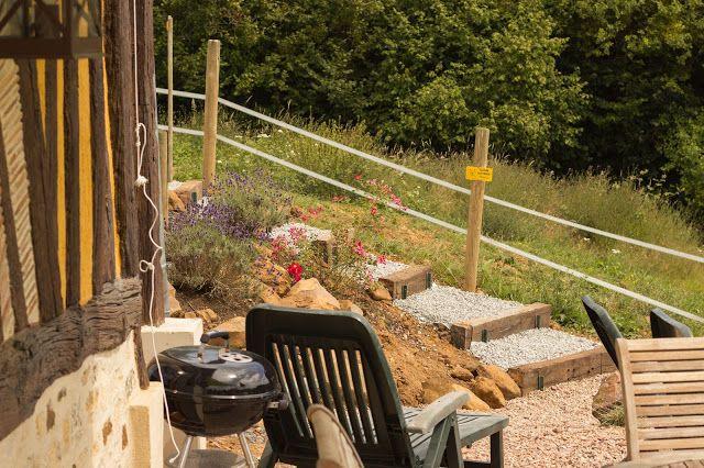 Nouvel escalier pour accéder au Gîte la Chévrerie !! Le Domaine du Martinaa: Projet Photo 365 - 27 Juillet 2013