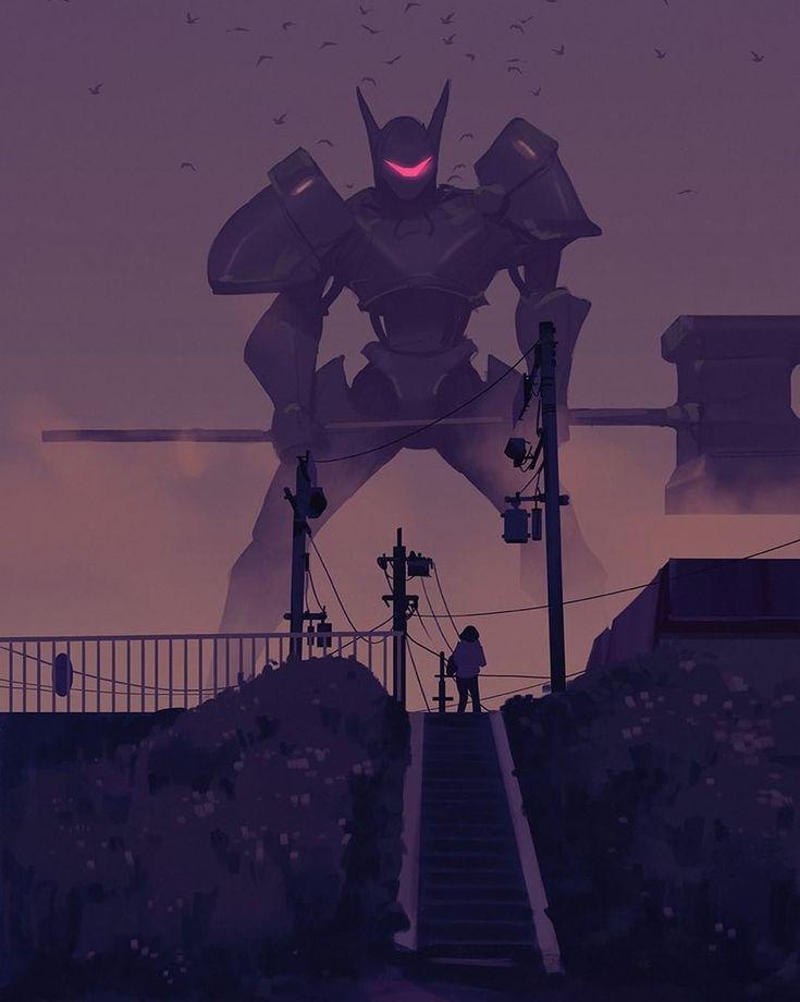 regram @snatti89 Bad dream sketch done for path of Miranda #pathofmiranda #artwork #drawing #painting #dusk #dawn #sketch #orange #blue #purple #illustration #robot #machine #dream #city #urban #monochrome #instaart #digitalart #photoshop #comics #anime #animation #girl #scifi #night #birds