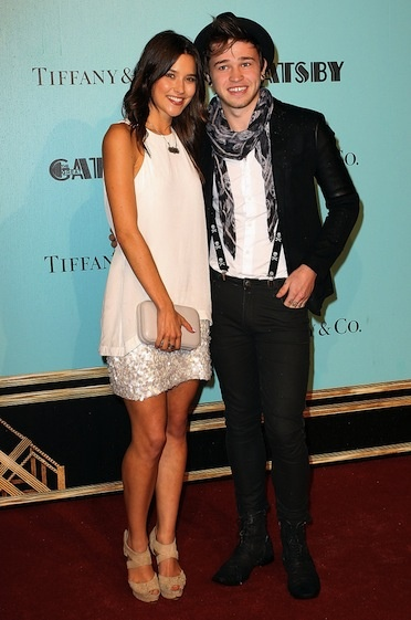 Rhiannon Fish and Reece Mastin at 'The Great Gatsby' Sydney premiere