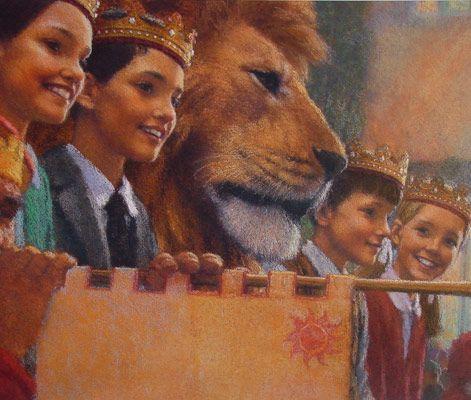 Christian Birmingham Illustration   Narnia. Coronation.