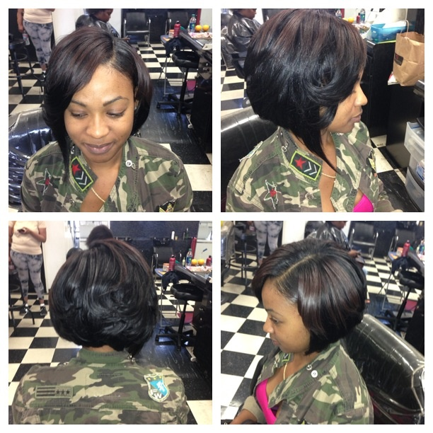 Sassy bob weave | HAIRSTYLES | Pinterest | Bob Weave and Bobs