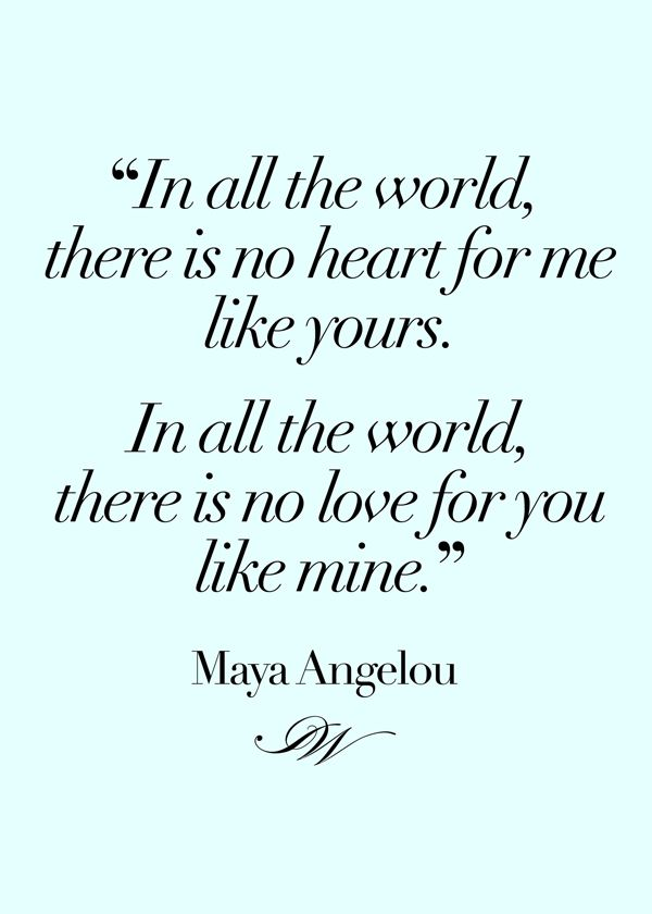 30 best Romantic Quotes images on Pinterest #1: dd2b37daf116b849f f39e quotes by maya angelou romantic quotes