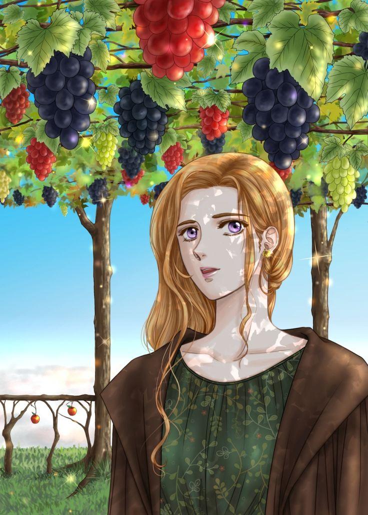 実りの秋~天空の果樹園 / 「むぎこ」のイラスト   メクる