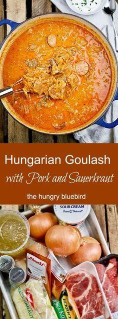 Die besten 25+ Recipes with pork goulash Ideen auf Pinterest - kochrezepte deutsche küche