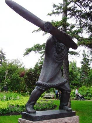 Leo Mol Collection in the Leo Mol Sculpture Garden in Winnipeg's Assiniboine Park