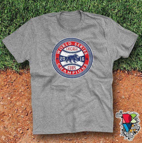Chicago Cubs Shirt   Cubs World Series Champions   2016 Champs   MLB   Cubs Shirt   1908   World Series 2016   Mens Womens Unisex T Shirt