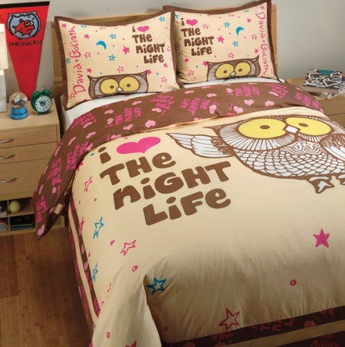 adorable bedset sheet from David & Goliath - and on sale for 45.50!