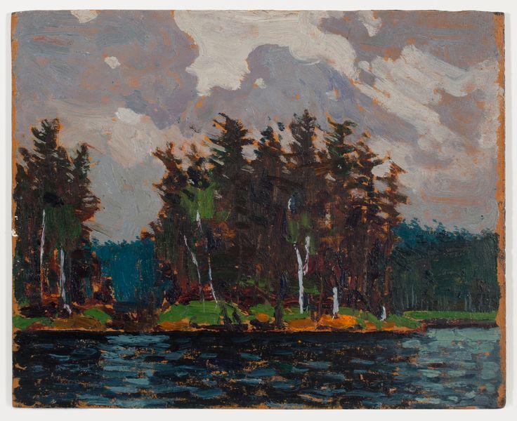 Tom Thomson Catalogue Raisonné   Pine Country, Spring 1916 (1916.66)   Catalogue entry