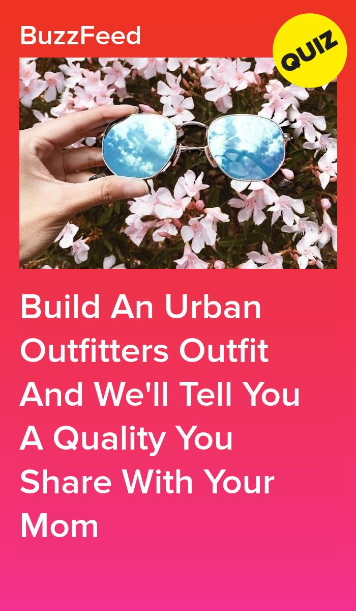 Build An Urban Outfitters Outfit And We'll Tell You A Quality You