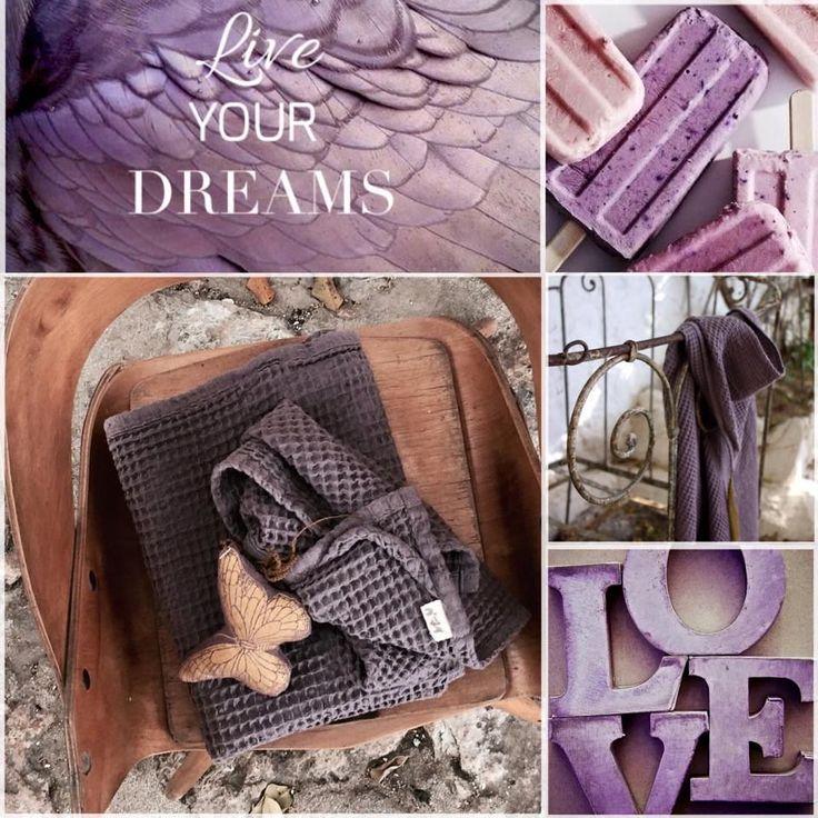 nº74 dusty lilac - inspiration board