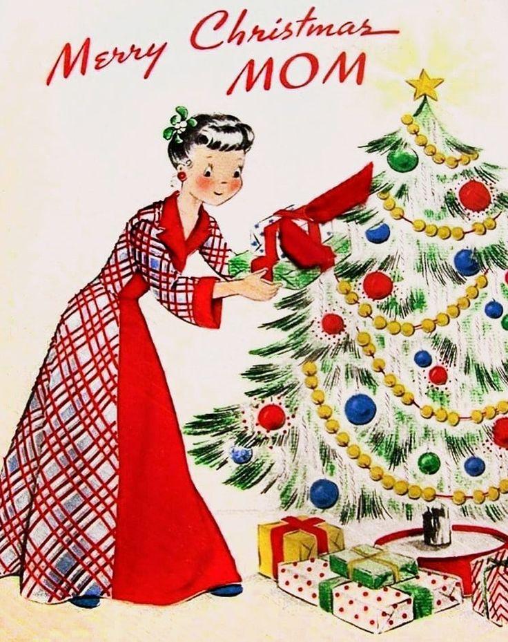 Look Back At 100 Mid Century Retro Christmas Cards From The 50s 60s Vintage Christmas Cards Christmas Mom Retro Christmas Cards