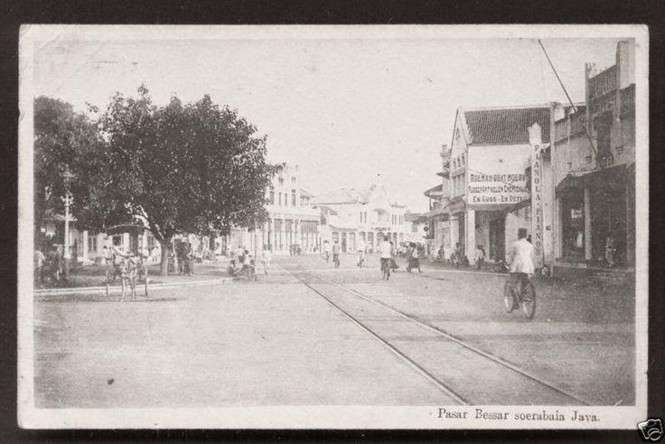 Piano Store, Pasar Besar Surabaya 1910