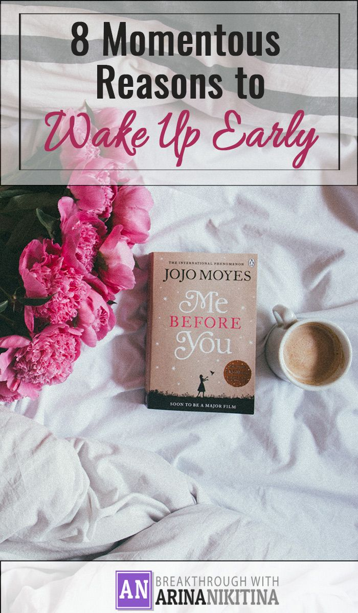 It has become common knowledge that successful people are early risers. Although, no one can guarantee that getting up early will necessarily make you successful, there are some sound reasons why successful people choose to wake up before the sunrise.
